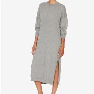 APIECE APART sweater midi dress